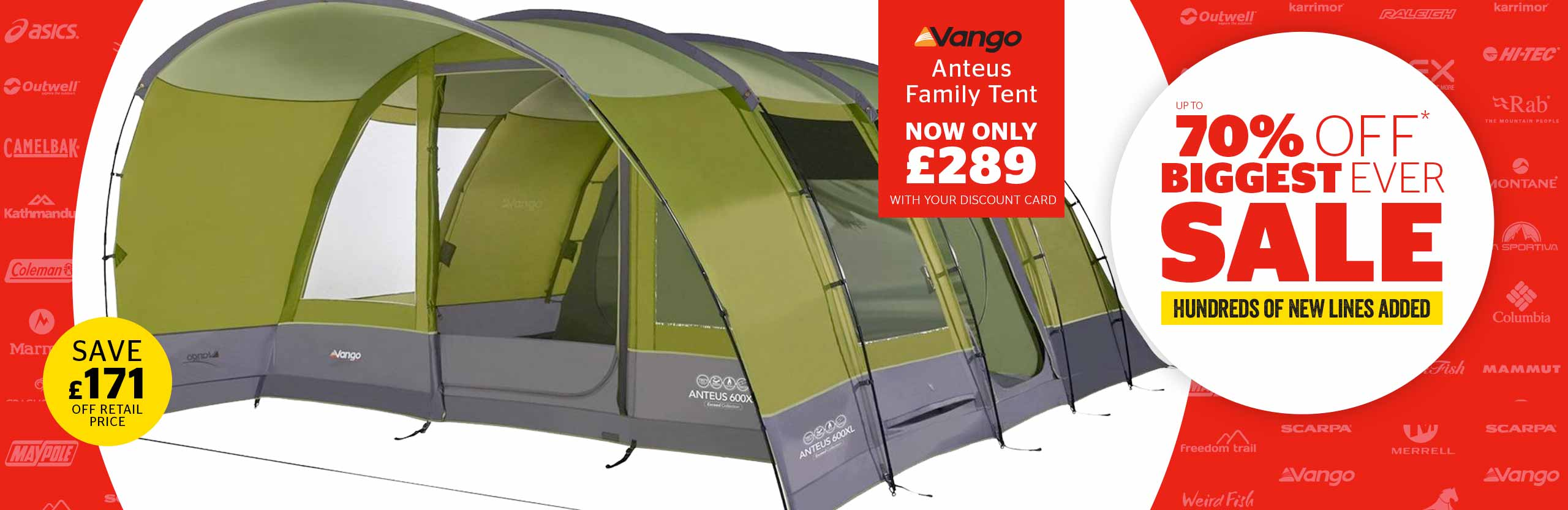 GO Outdoors: Tents & Camping | Outdoor Clothing | Walking Boots