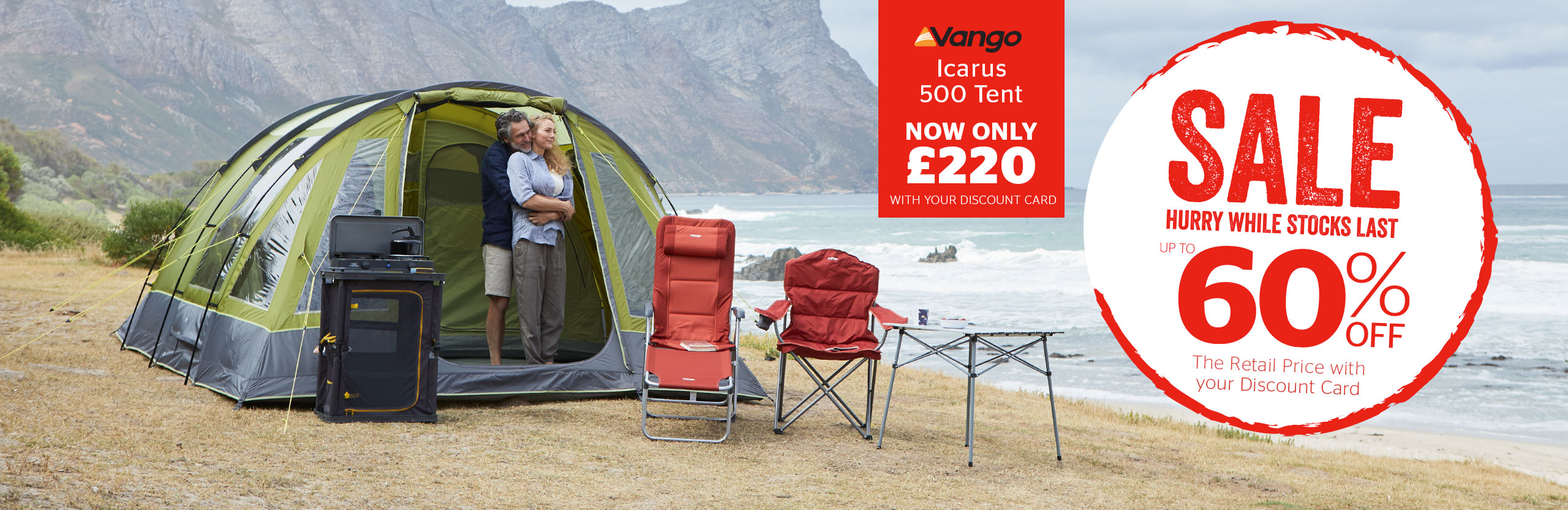 TENTS & CAMPING SALE - Vango Icarus
