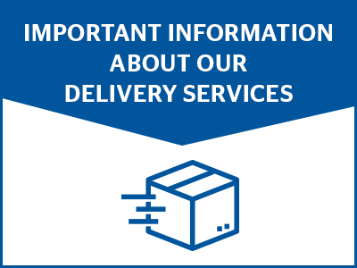 Disruption to delivery services