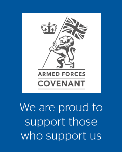We are proud to support those who support us