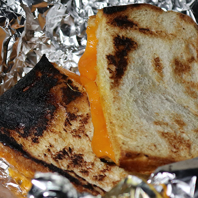Recipe for Campfire Cheese Toasties