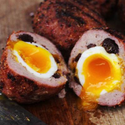 BBQ Scotch Eggs