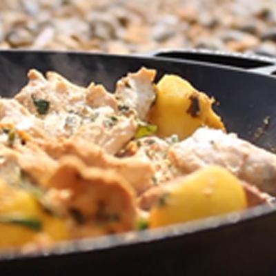 Moroccan Chicken Flatbreads