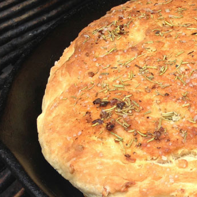 Rosemary and Onion Focaccia