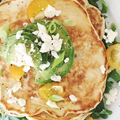 ATomato & Feta Savoury Pancake