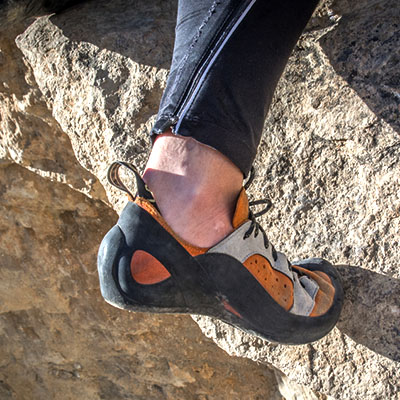 Guide To Climbing Shoes and Rock Shoes